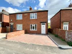 Semi Detached House For Sale Whitwell Worksop Nottinghamshire S80