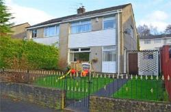 Semi Detached House For Sale  Hengoed Glamorgan CF82