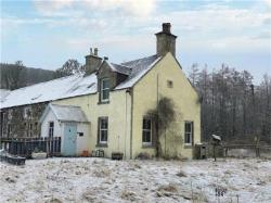 End Terrace House For Sale  Strathdon Aberdeenshire AB36