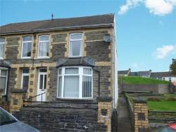 Semi Detached House For Sale  Bargoed Glamorgan CF81