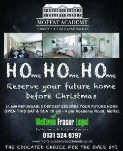 Flat For Sale  Moffat Dumfries and Galloway DG10