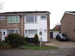 Semi Detached House To Let Great Barford Bedford Bedfordshire MK44