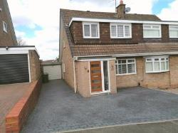 Semi Detached House For Sale  Sunderland Tyne and Wear SR3