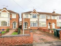 Terraced House For Sale  Cheylesmore. West Midlands CV3