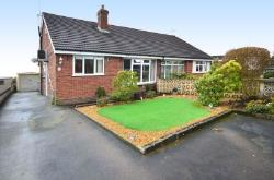 Semi - Detached Bungalow For Sale  Weston Coyney Staffordshire ST3
