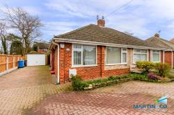 Semi - Detached Bungalow For Sale  Thornton Lancashire FY5