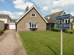 Detached Bungalow To Let  Bury St Edmunds Suffolk IP29