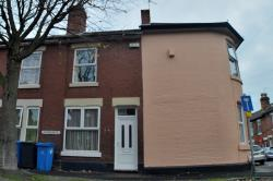 Terraced House To Let Stockbrook Derby Derbyshire DE22