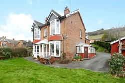 Detached House For Sale  Newtown Powys SY16