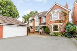 Detached House For Sale Cherrington Way Solihull West Midlands B91