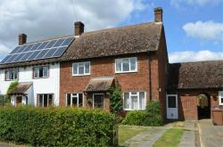 Semi Detached House For Sale  Hinxworth Hertfordshire SG7
