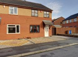 Semi Detached House For Sale  STOKE ON TRENT Staffordshire ST2
