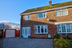 Semi Detached House For Sale Thorngumbald Hull East Riding of Yorkshire HU12