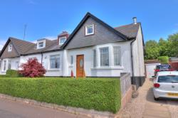 Semi - Detached Bungalow For Sale  Clydebank Dunbartonshire G81