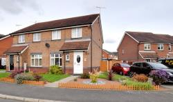 Semi Detached House For Sale Bestwick Close Ilkeston Derbyshire DE7