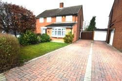 Semi Detached House For Sale Barton-le-Clay Bedford Bedfordshire MK45