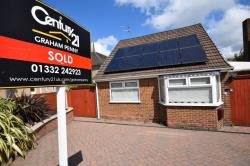 Detached Bungalow For Sale  Mickleover Derbyshire DE3