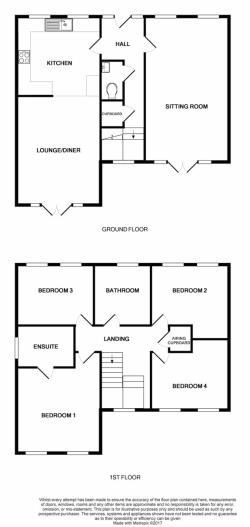 Detached House For Sale Brandesburton Driffield East Riding of Yorkshire YO25