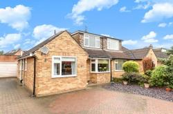 Semi Detached House For Sale Plompton Drive Harrogate North Yorkshire HG2