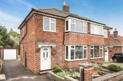Semi Detached House For Sale Crossways Drive Harrogate North Yorkshire HG2