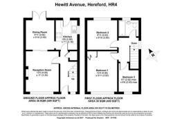 Semi Detached House For Sale Hewitt Avenue Hereford Herefordshire HR4