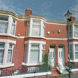 Terraced House To Let Adelaide Road Liverpool Merseyside L7