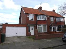 Semi Detached House To Let  Whitley Bay Northumberland NE25