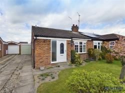 Semi - Detached Bungalow For Sale Wilberfoss York East Riding of Yorkshire YO41
