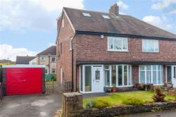 Semi Detached House For Sale Moorfield Gardens Pudsey West Yorkshire LS28