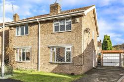 Semi Detached House For Sale Thorpe Willoughby Selby North Yorkshire YO8