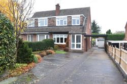 Semi Detached House For Sale Hallam Ilkeston Derbyshire DE7