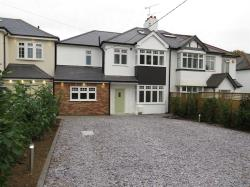 Semi Detached House For Sale Nr Billericay Stock Essex CM4