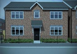 Detached House For Sale Plot 20 Peel Street Tipton West Midlands DY4