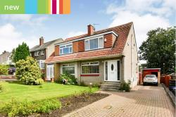 Semi Detached House For Sale  Bishopbriggs, Glasgow Dunbartonshire G64